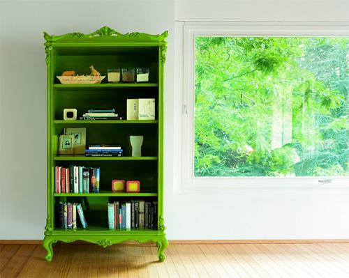 libreria-art-deco-color-verde