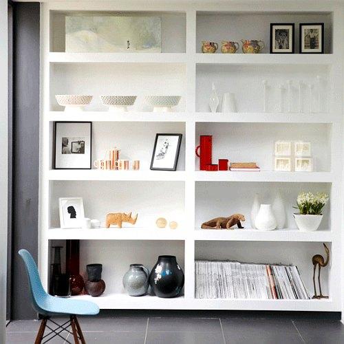 librería decorativa