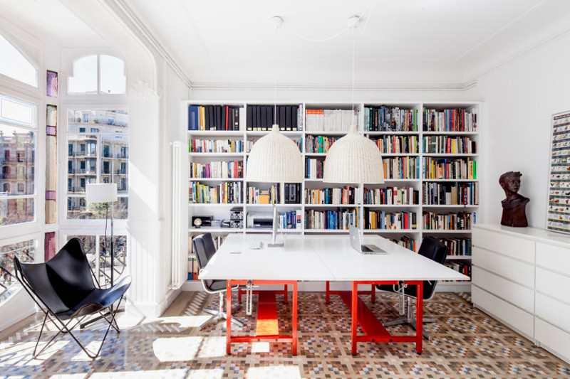 librerías y bibliotecas para decorar
