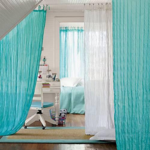 Ligeras cortinas decoracion in - Como hacer unas cortinas para el salon ...