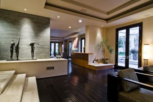 Lujosa residencia en los ngeles decoracion in for Casas modernas y lujosas fotos