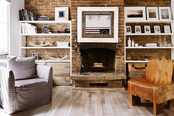 materiales naturales en casa