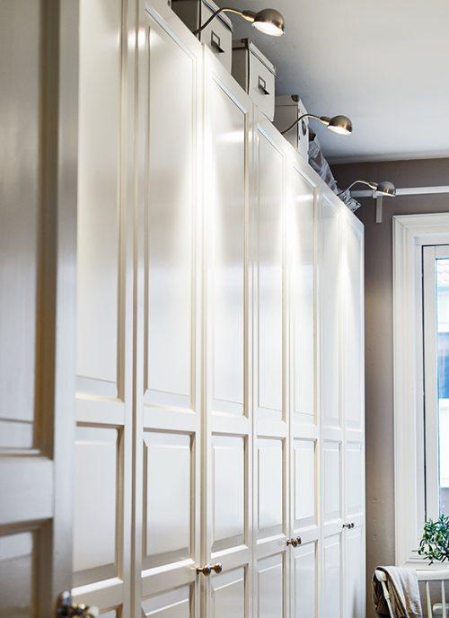 mejorar la iluminación en armarios