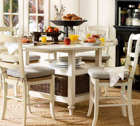 Mesas comedor pequeños espacios