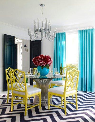 Mesas redondas para la decoración del comedor   decoracion.in
