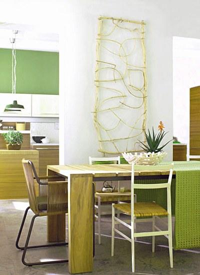 Mix de asientos en el comedor decoracion in for Asientos de comedor