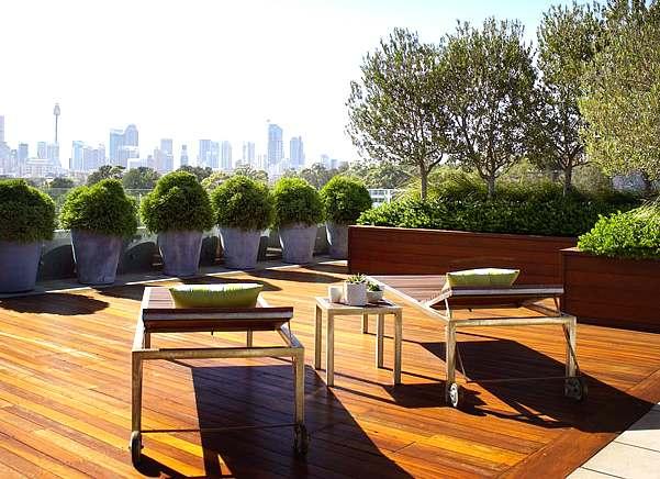 práctico mobiliario de exterior