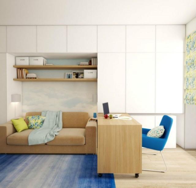 Ideas y Muebles para un Apartamento Pequeño - Decoracion.IN