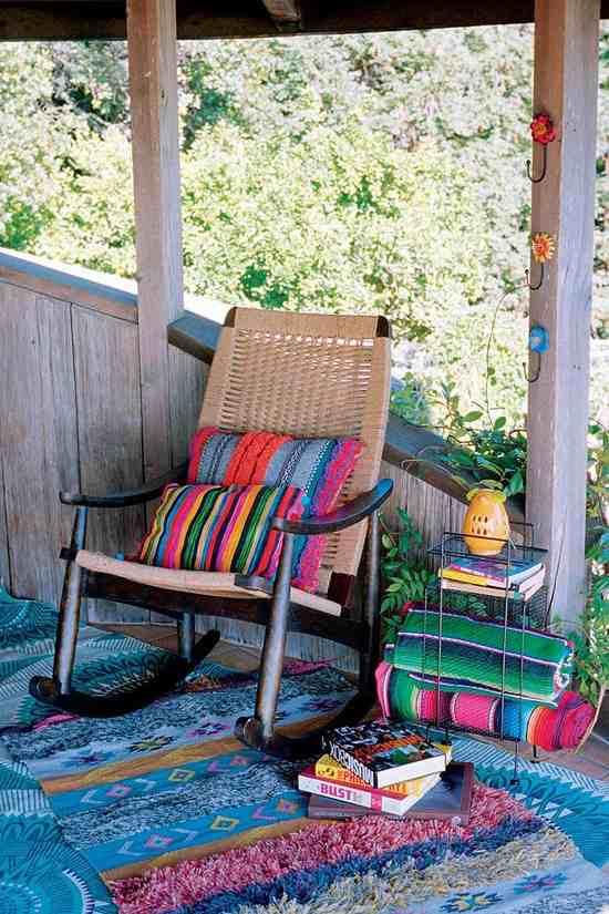 mobiliario con toques personales