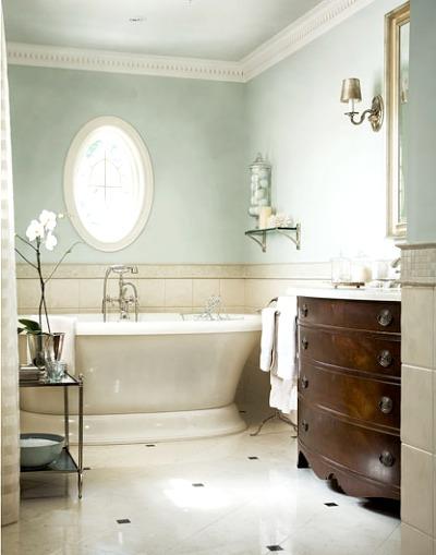 modelos clásicos: bañera blanca
