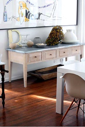 Ideas para sacar partido a una consola decoracion in - Muebles auxiliares comedor ...