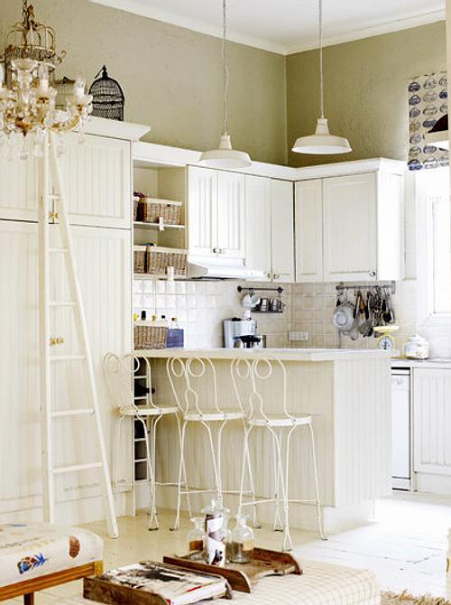 Muebles blancos para la decoraci n de cocinas decoracion in - Decoracion muebles blancos ...