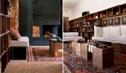 Ideas de decoraci n con cajas de madera decoracion in for Muebles con cajas de madera