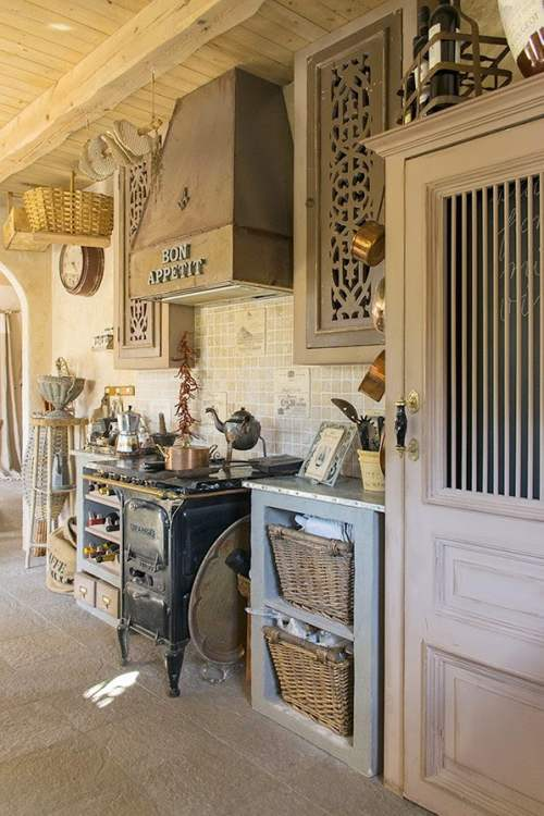 muebles de cocina de antaño