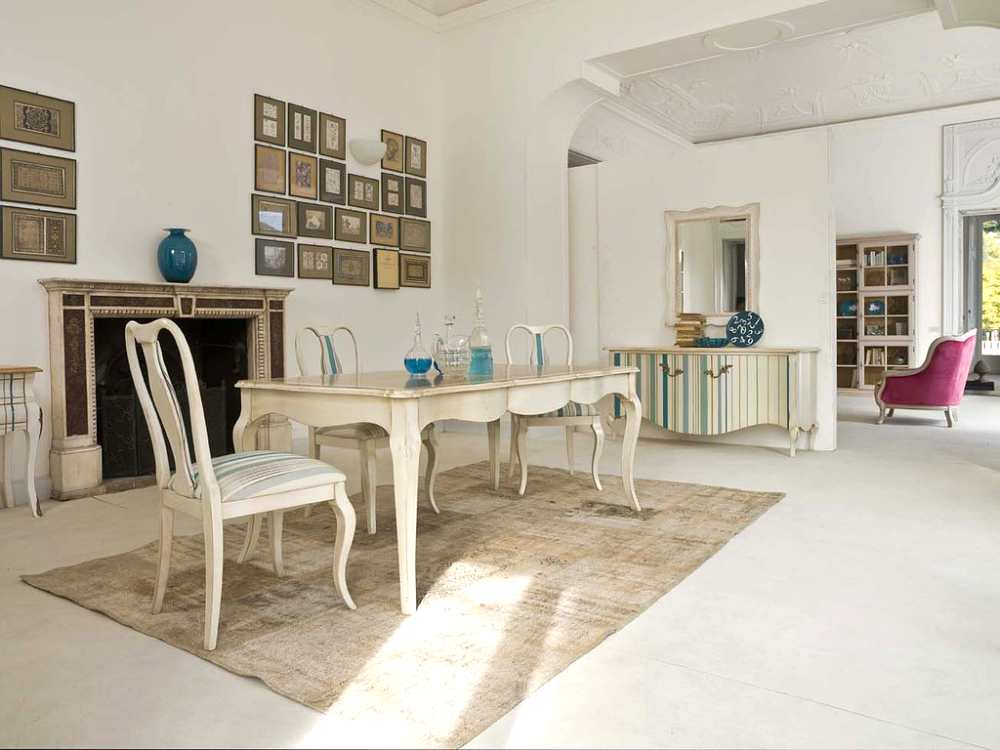 muebles de comedor barrocos y actualizados