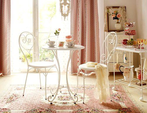 muebles de hierro en interiores
