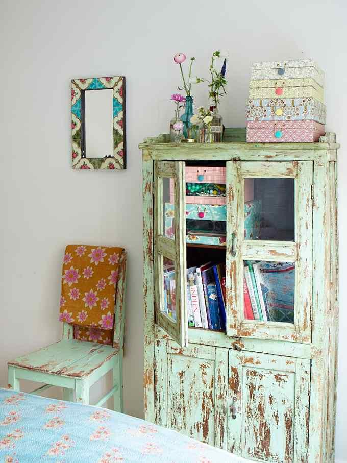 Muebles decapados con encanto decoracion in - Muebles decapados ...