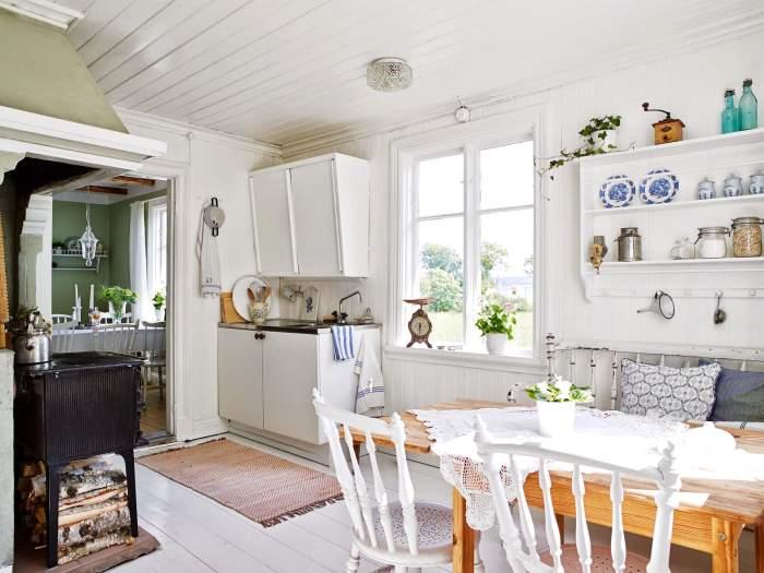muebles y detalles para  el comedor y office