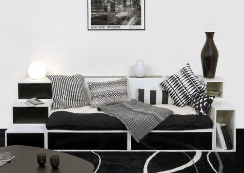 Una casa angosta for Muebles de cocina espacios pequenos