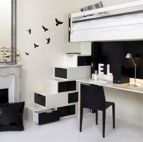 Una casa angosta - Muebles funcionales para espacios reducidos ...