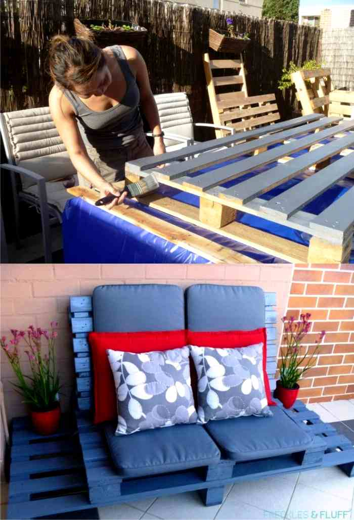 Muebles de jard n de madera decoracion in for Muebles jardin madera