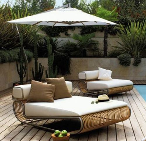 Muebles de jard n sof y sill n modular y el ptico for Sofa modular jardin