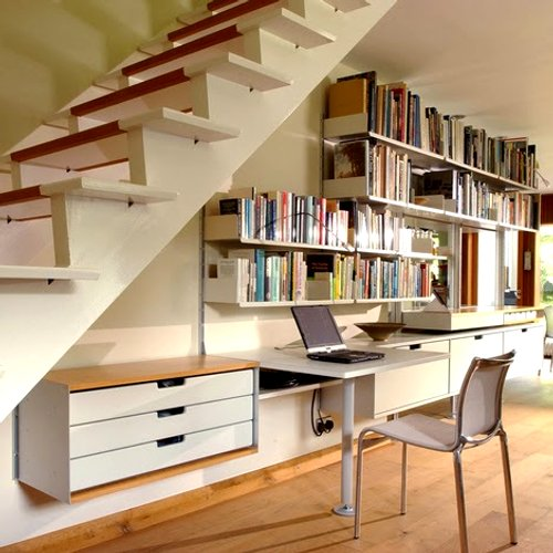 muebles medida bajo las escaleras