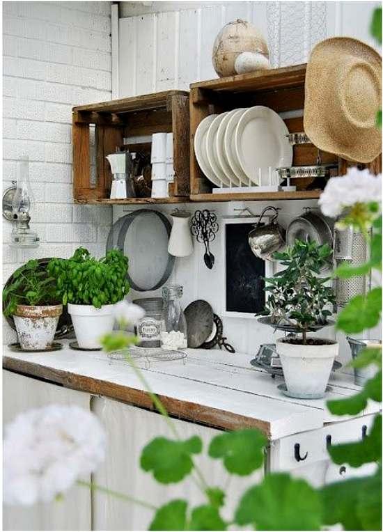 Recicla decora y renueva la cocina decoracion in - Objetos vintage para decorar ...