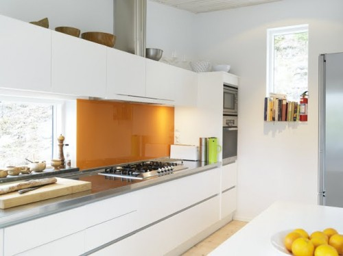 Ideas Para Disenar Una Cocina Actual Decoracionin - Revestimientos-para-cocinas-modernas