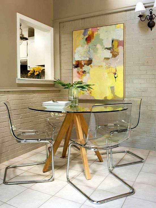 muebles para un salón comedor pequeño