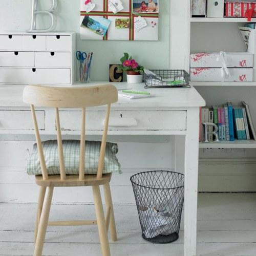 Oficina en casa ideas inspiradoras decoracion in for Ideas despacho en casa