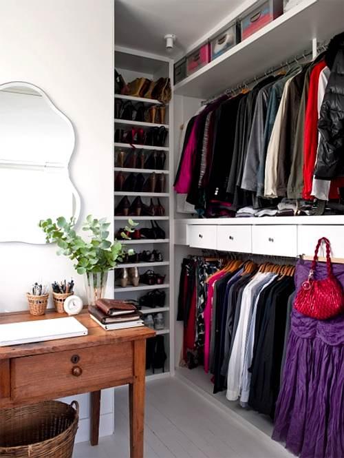 organizar el vestidor en casa