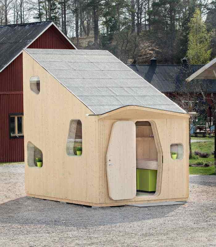 originales casas pequeñas
