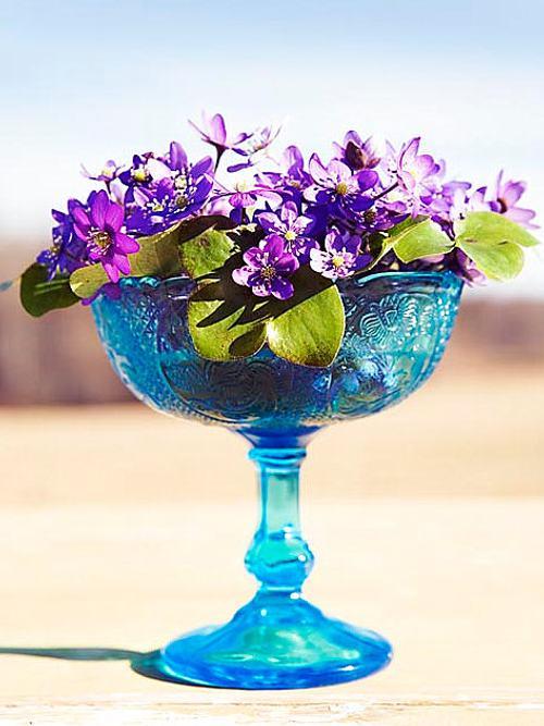 originales recipientes para las flores