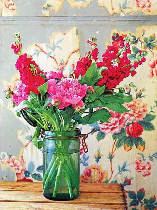 arreglos con flores cortadas