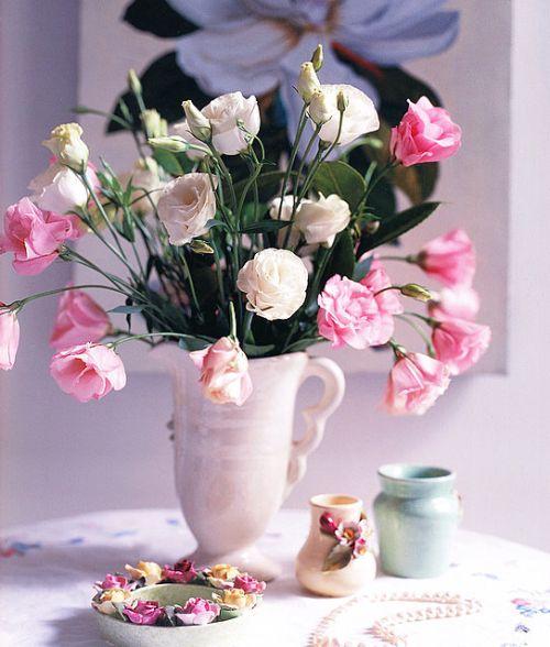 flores naturales en casa