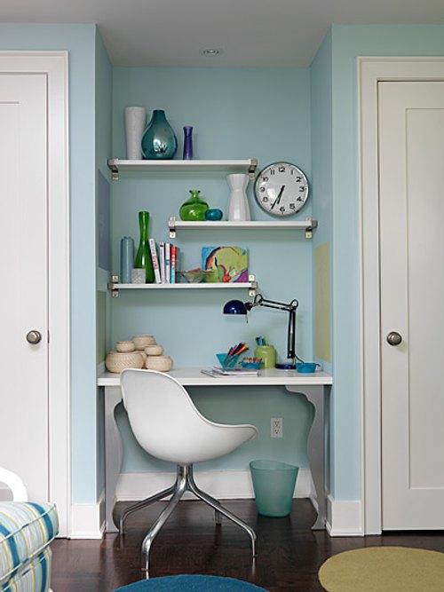 Ikea Poang Chair Cushion Replacement ~ Otra Idea de Oficina para Espacios Pequeños  Decoracion IN