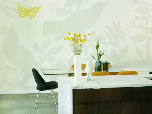 Papel pintado impacto visual en tus paredes decoracion in - Papel pintado decoracion paredes ...