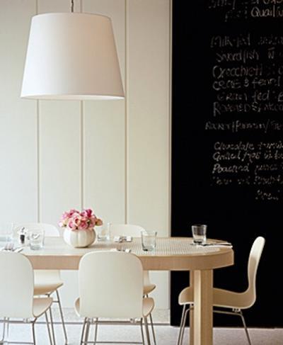 Paredes pizarra para la decoraci n del hogar decoracion in - Pizarra decoracion pared ...