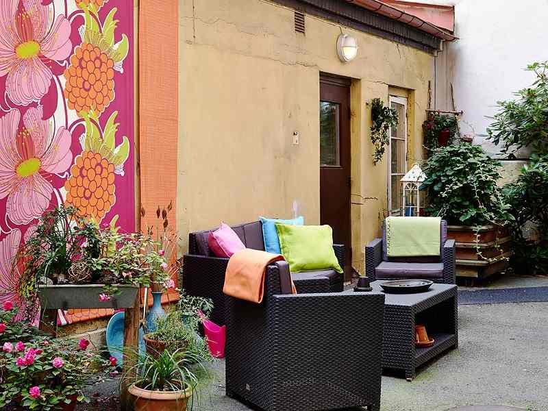 patios y terrazas actuales