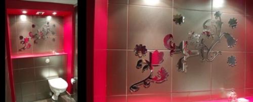 Pegatinas de espejos para decorar paredes decoracion in - Pegatinas para decorar ...