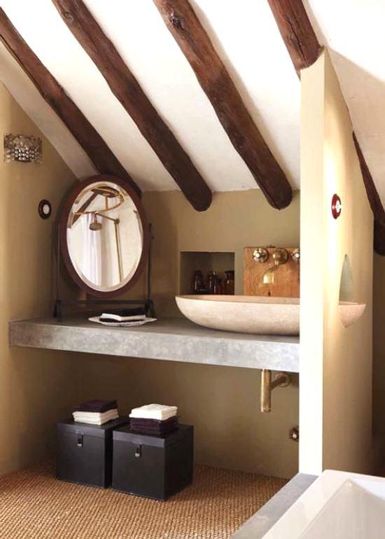 Baño Pequeno Rustico:Un Pequeño Baño Rústico y Atractivo – DecoracionIN
