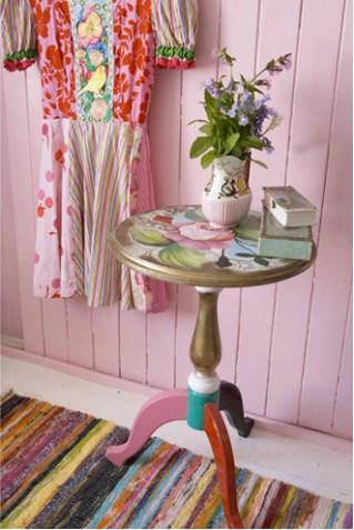 pintar muebles y complementos