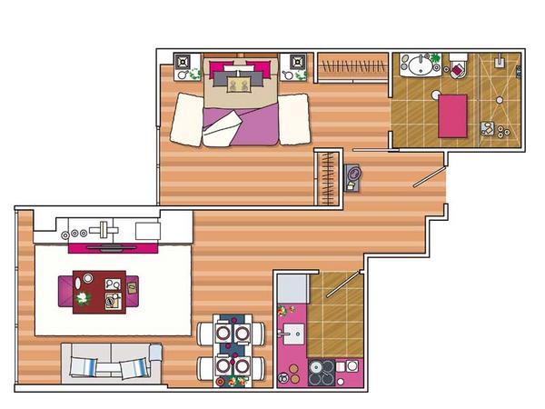 piso pequeño