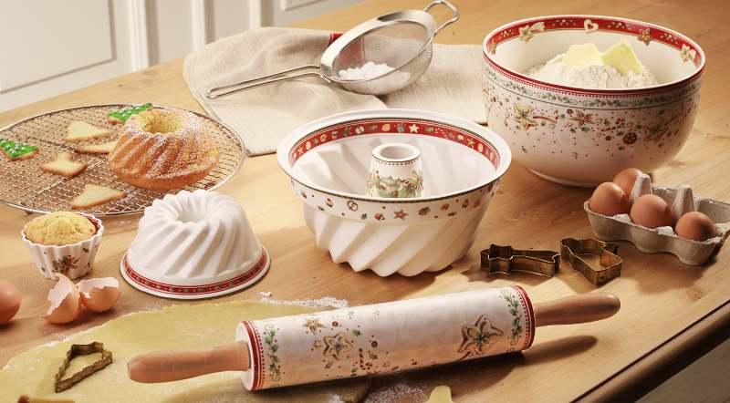 porcelana con diseños navideños