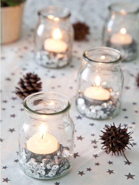Diy de navidad para la mesa decoracion in - Diy decoracion navidad ...