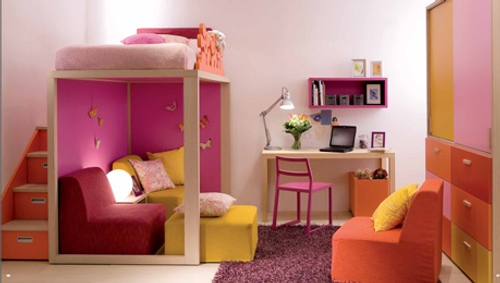 Toddler beds for girls princesses - Pr 225 Cticos Muebles Para Dormitorios De Ni 241 Os Y J 243 Venes Decoracion