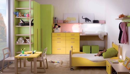 Prácticos Muebles para Dormitorios de Niños y Jóvenes  Decoracion