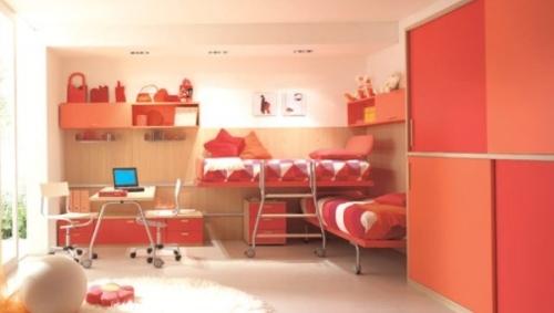 Pr cticos muebles para dormitorios de ni os y j venes for Dormitorios para ninas adolescentes