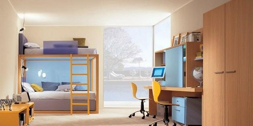 Pr cticos muebles para dormitorios de ni os y j venes - Muebles de dormitorio de ninos ...